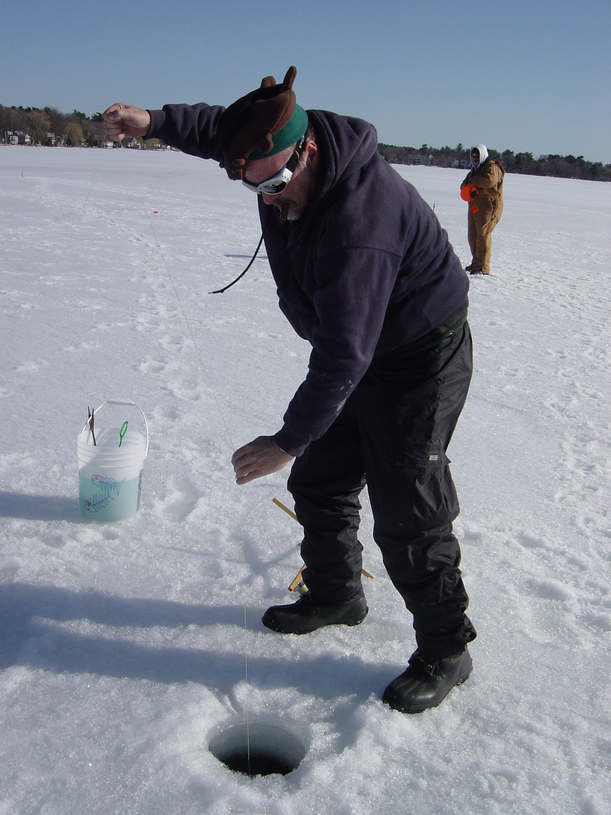Ice fishing for Ice fishing show